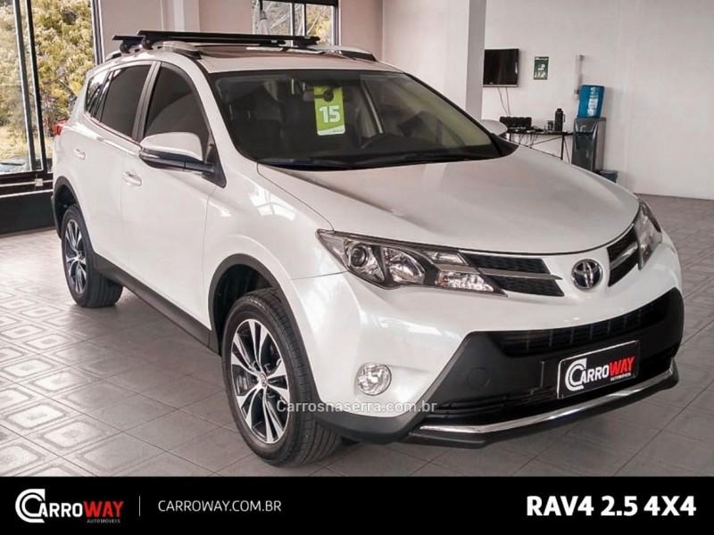 rav4 2.5 4x4 16v gasolina 4p automatico 2015 feliz
