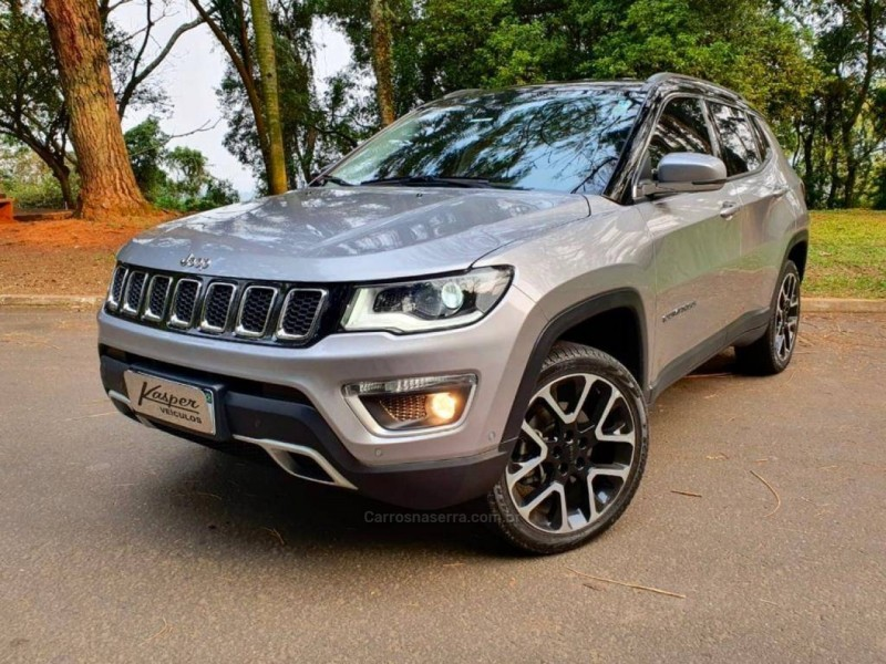 compass 2.0 16v diesel limited 4x4 automatico 2020 dois irmaos