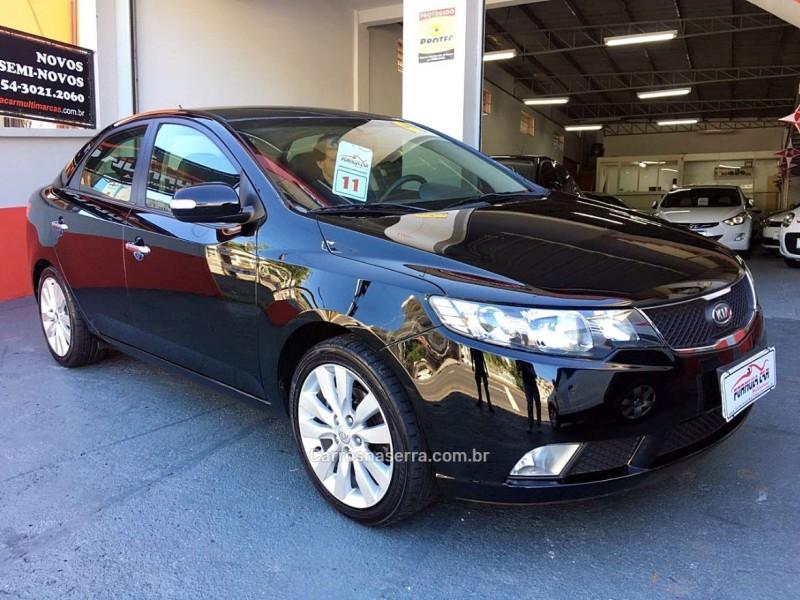 cerato 1.6 sx2 16v gasolina 4p automatico 2011 caxias do sul