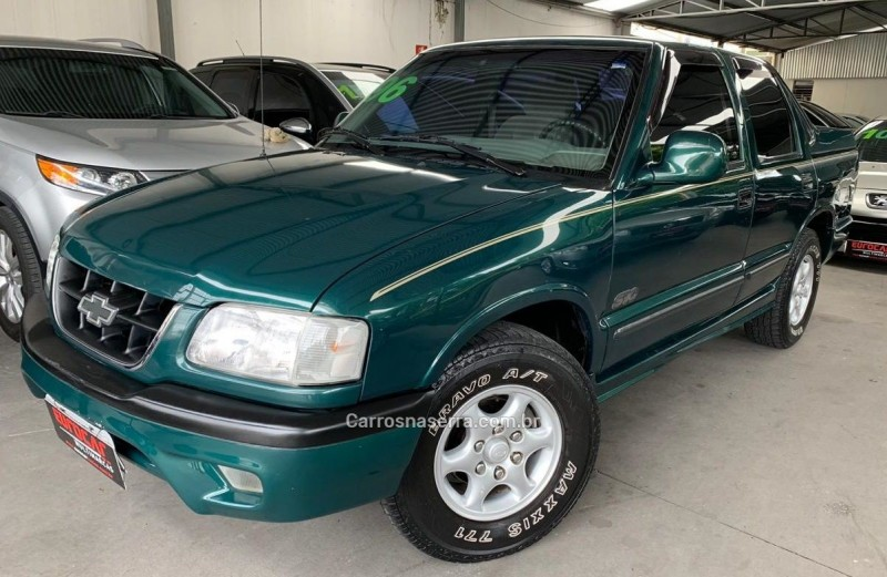 s10 2.2 efi dlx 4x2 cd 8v gasolina 4p manual 1996 caxias do sul