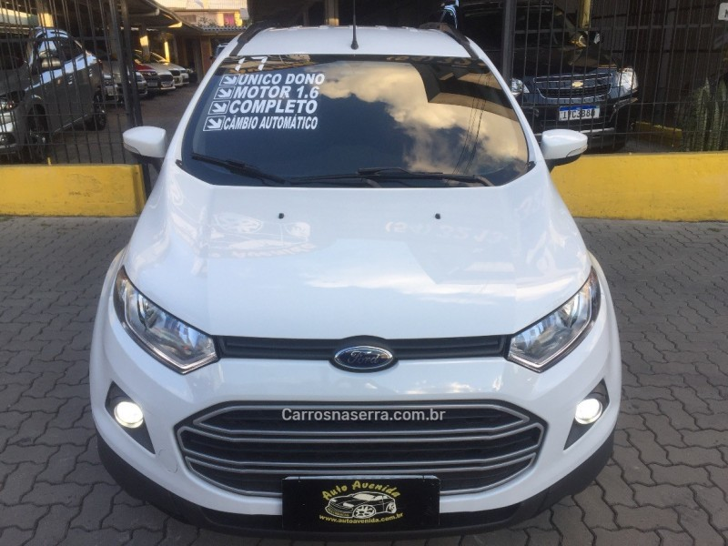 ecosport 1.6 se 16v flex 4p powershift 2017 caxias do sul