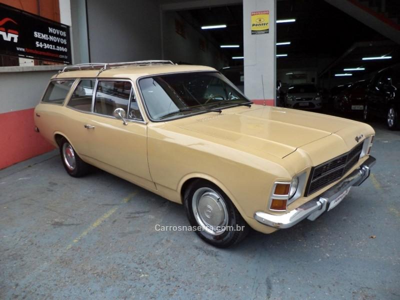 caravan 2.5 l 8v gasolina 2p manual 1979 caxias do sul