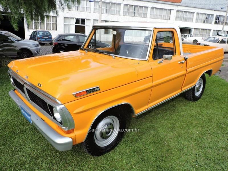 f 100 4.5 8 cilindros 16v gasolina 2p manual 1972 sao marcos