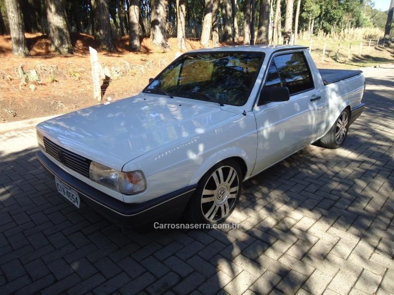 saveiro 1.8 gl cs 8v gasolina 2p manual 1991 caxias do sul