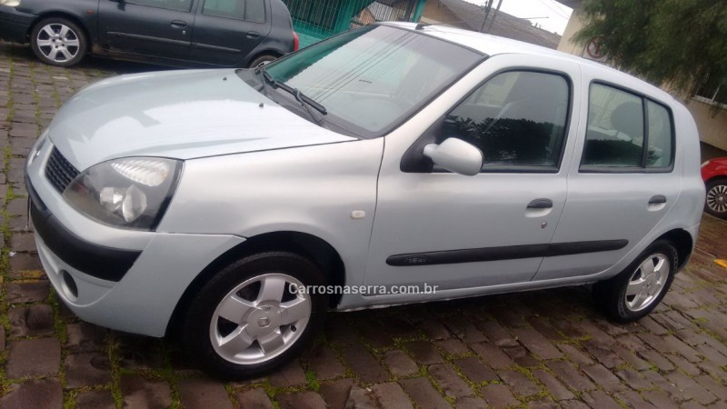 clio 1.6 privilege 16v gasolina 4p manual 2004 caxias do sul