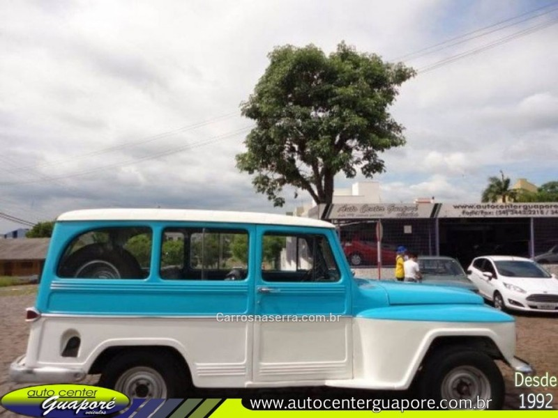 rural 2.6 4x2 6 cilindros 12v gasolina 2p manual 1974 guapore