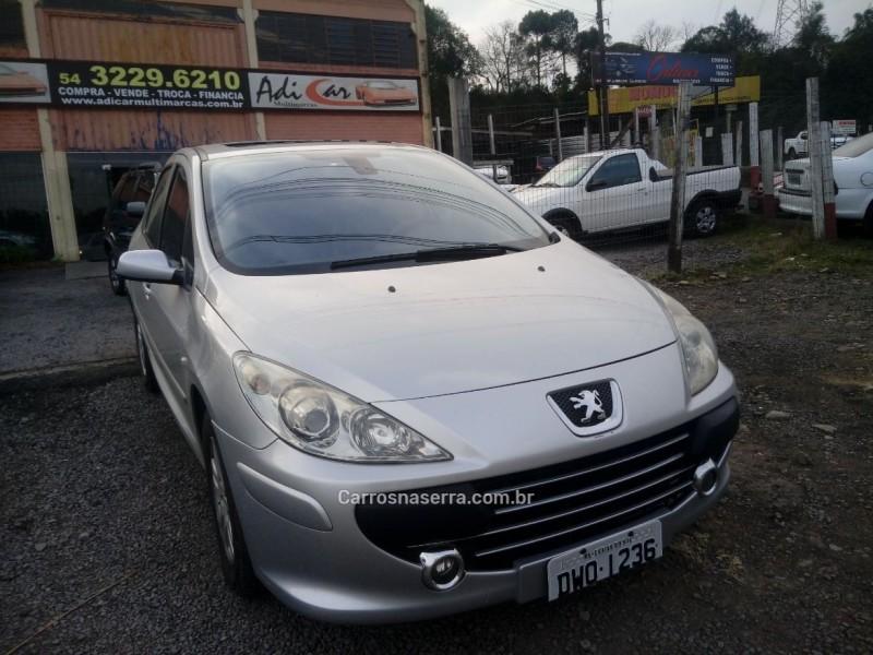 307 2.0 griffe sedan 16v gasolina 4p automatico 2007 caxias do sul