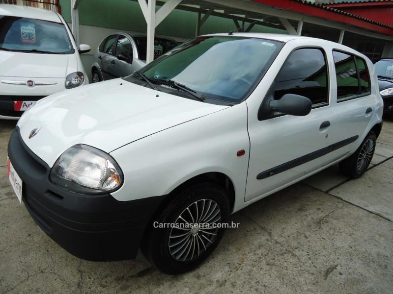 clio 1.0 authentique 8v gasolina 4p manual 2003 caxias do sul