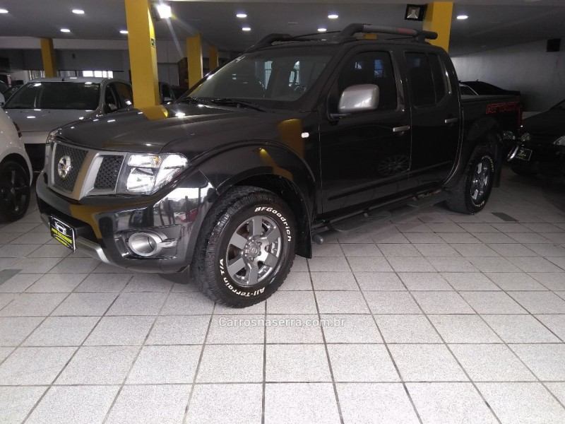 frontier 2.5 sv attack 4x2 cd turbo eletronic diesel 4p manual 2014 caxias do sul
