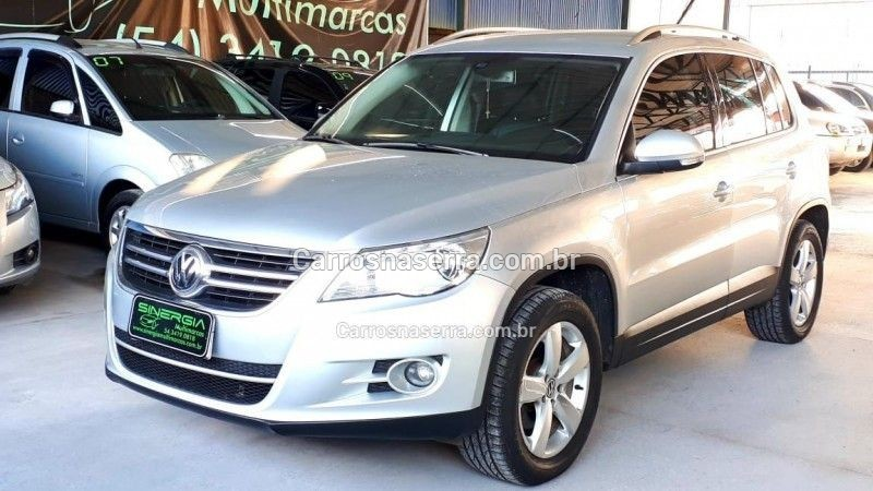 tiguan 2.0 tsi 16v turbo gasolina 4p tiptronic 2011 caxias do sul