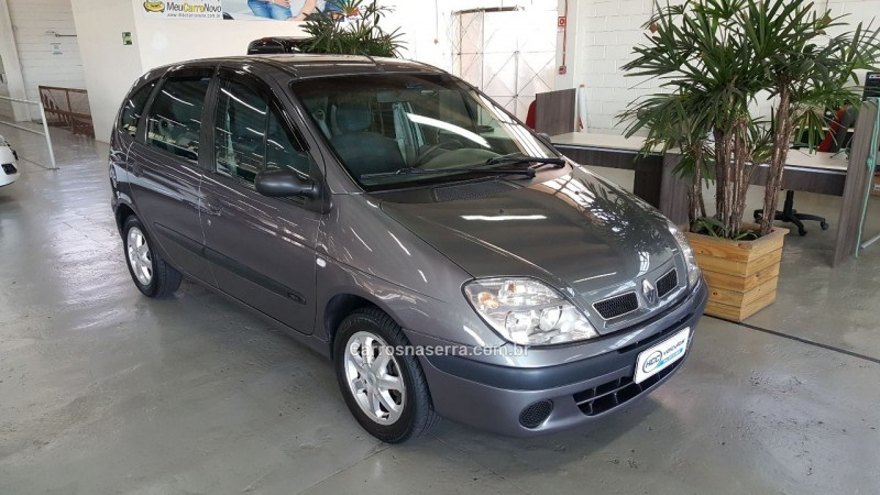 scenic 1.6 authentique 16v flex 4p manual 2006 caxias do sul