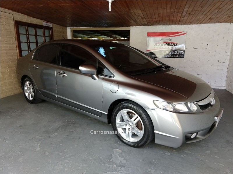 civic 1.8 exs 16v flex 4p automatico 2009 caxias do sul