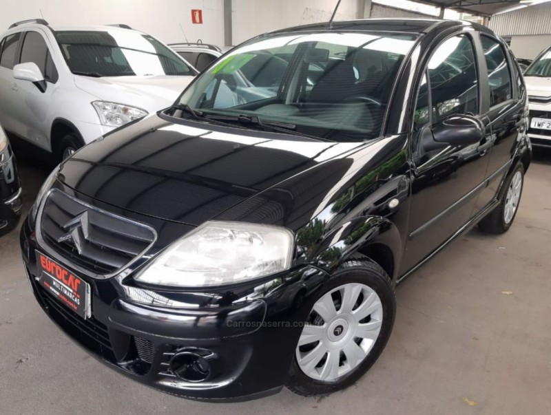 c3 1.6 exclusive 16v flex 4p automatico 2010 caxias do sul