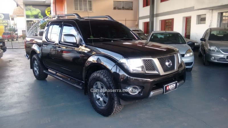 frontier 2.5 sv attack 4x4 cd turbo eletronic diesel 4p manual 2016 caxias do sul