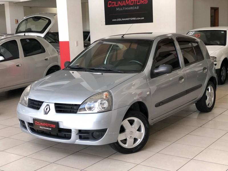 CLIO 1.0 AUTHENTIQUE 16V GASOLINA 4P MANUAL - 2006 - CAXIAS DO SUL