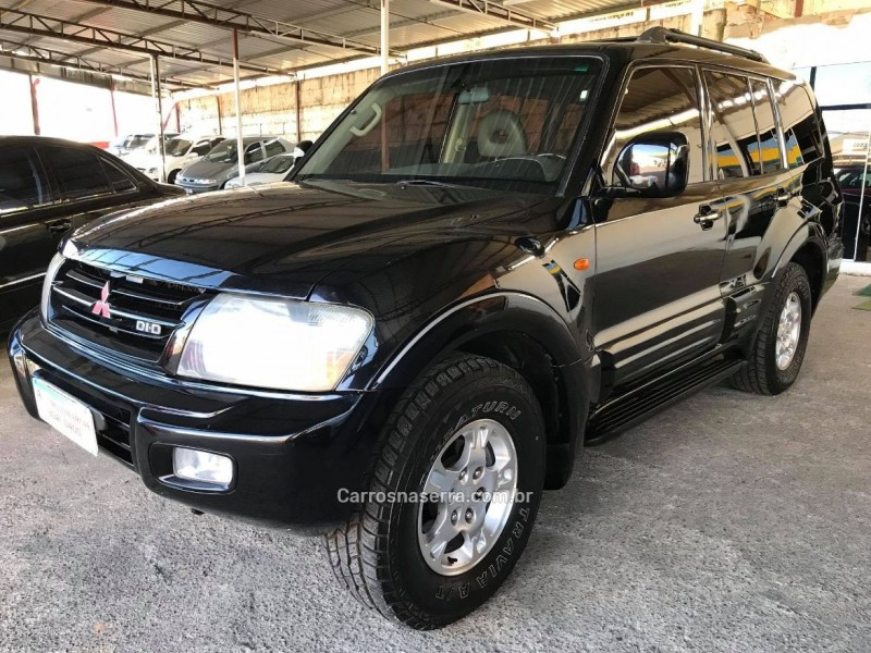 pajero 3.2 4x4 16v turbo intercooler diesel 4p automatico 2002 caxias do sul