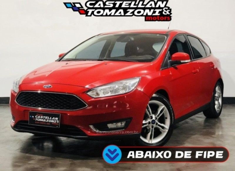 focus 1.6 se 16v flex 4p manual 2016 caxias do sul