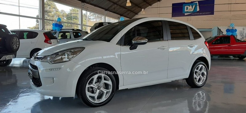 c3 1.6 exclusive 16v flex 4p automatico 2018 caxias do sul