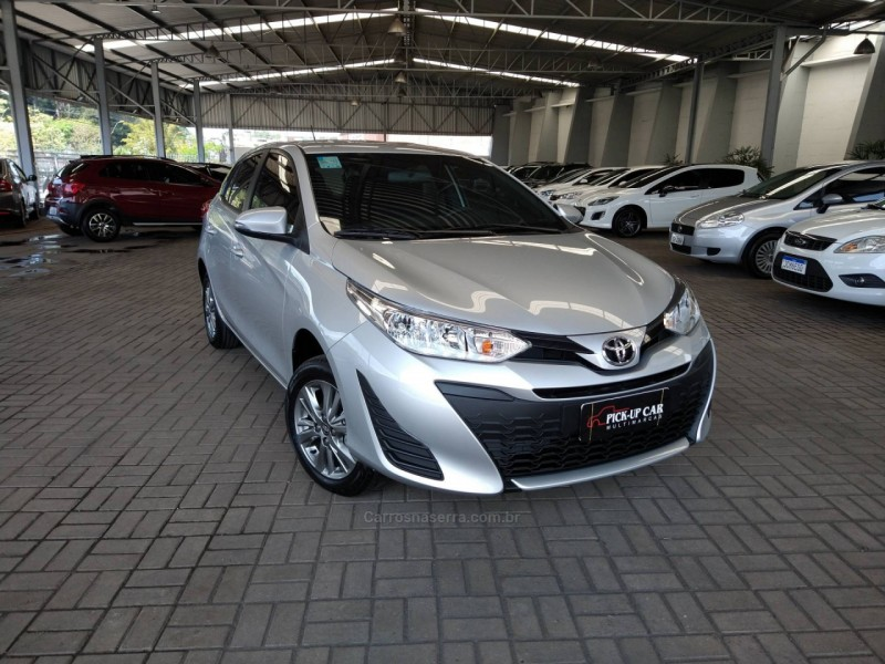 yaris 1.5 xl connect 16v flex 4p automatico 2021 caxias do sul