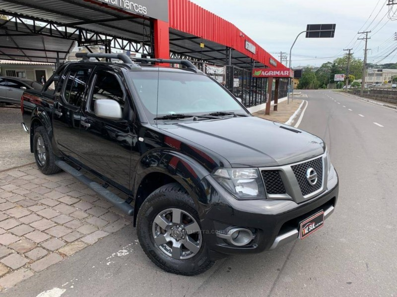 frontier 2.5 sv attack 4x4 cd turbo eletronic diesel 4p manual 2014 caxias do sul