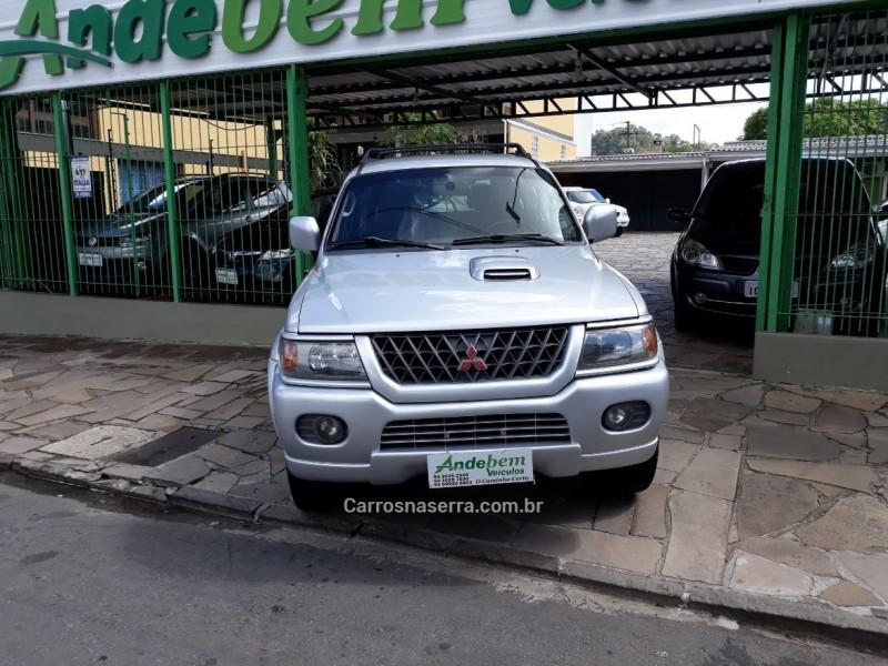 pajero sport 2.8 gls 4x4 8v turbo intercooler diesel 4p automatico 2002 caxias do sul