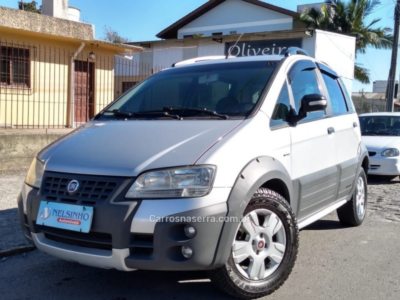 idea 1.8 mpi adventure 8v flex 4p automatizado 2010 caxias do sul