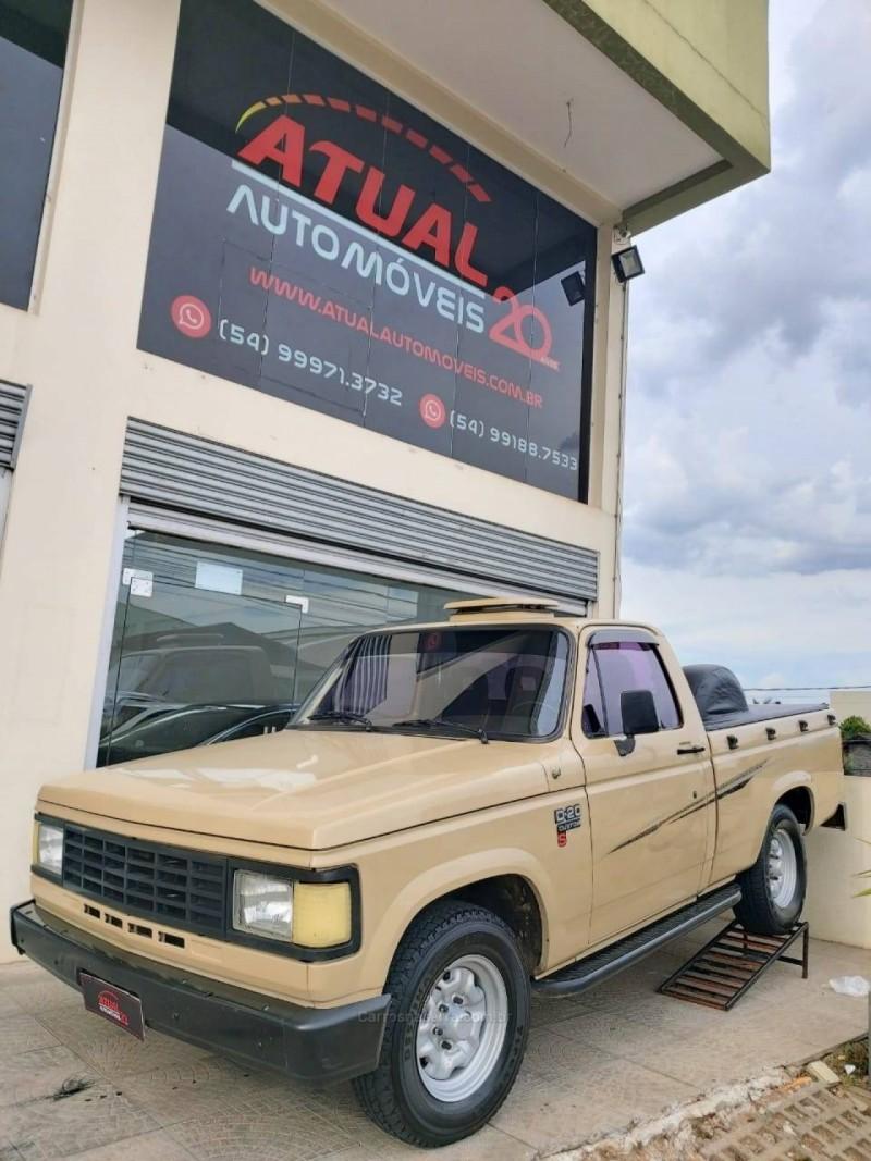 d20 4.0 custom s cs 8v diesel 2p manual 1988 caxias do sul