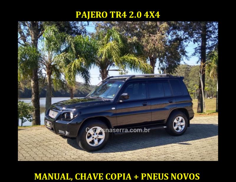 pajero tr4 2.0 4x4 16v 140cv flex 4p automatico 2008 caxias do sul