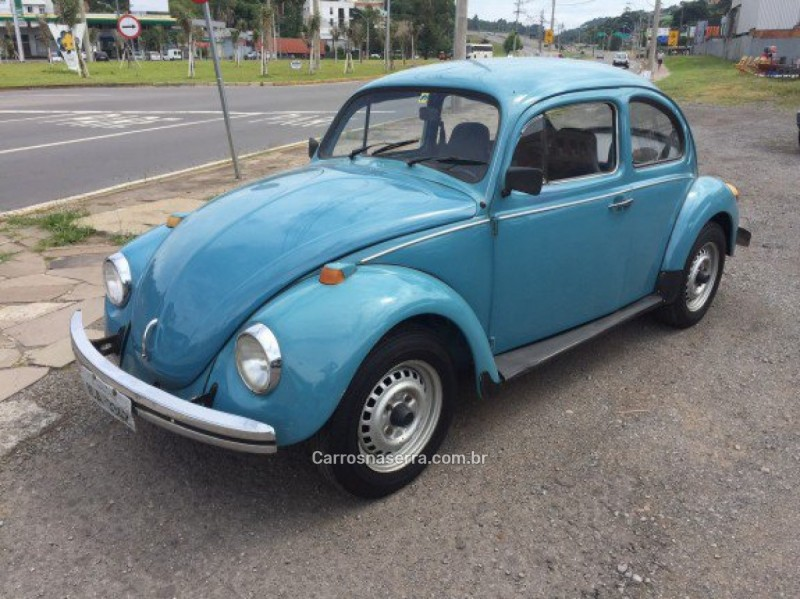 fusca 1.3 8v gasolina 2p manual 1982 caxias do sul