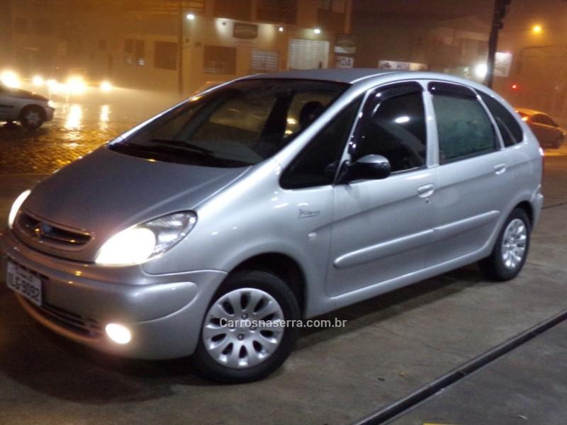xsara picasso 2.0 i exclusive 16v gasolina 4p manual 2003 caxias do sul