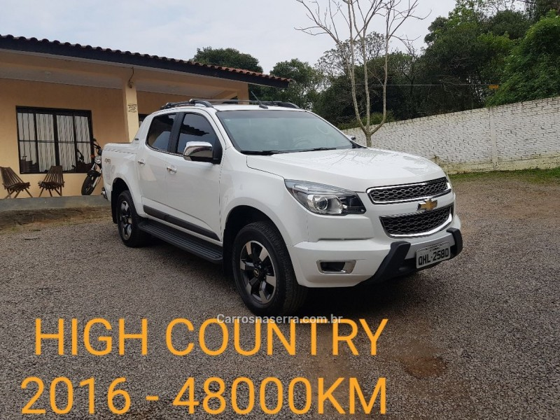 s10 2.8 high country 4x4 cd 16v turbo diesel 4p automatico 2016 caxias do sul