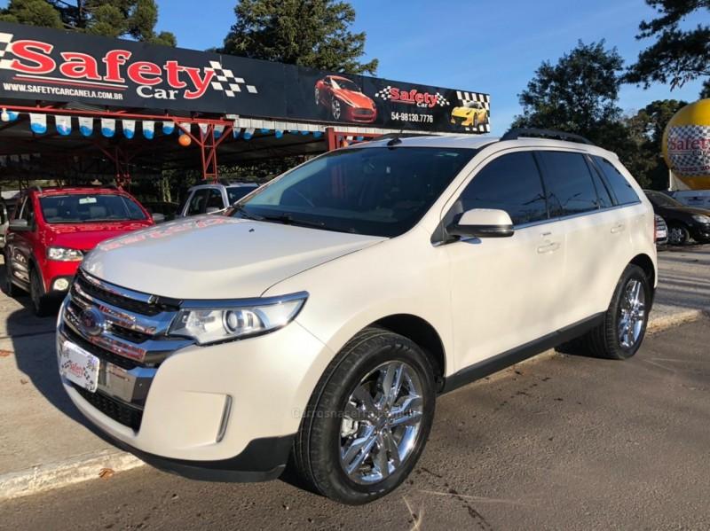 edge 3.5 limited awd v6 24v gasolina 4p automatico 2013 canela