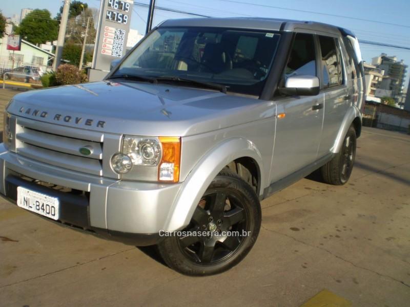 discovery 3 4.0 se 4x4 v6 24v gasolina 4p automatico 2006 caxias do sul