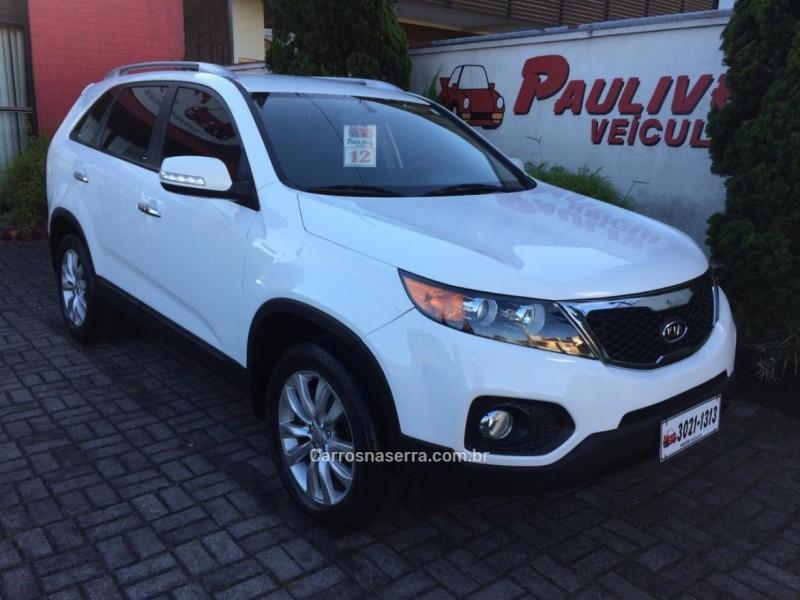 sorento 2.4 ex2 4x2 16v gasolina 4p automatico 2012 caxias do sul