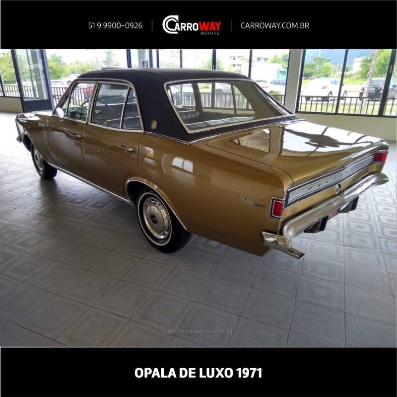 OPALA 2.5 DE LUXO 8V GASOLINA 4P MANUAL - 1971 - FELIZ