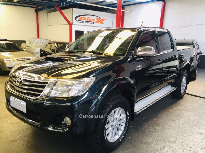 hilux 3.0 srv 4x4 cd 16v turbo intercooler diesel 4p automatico 2012 caxias do sul