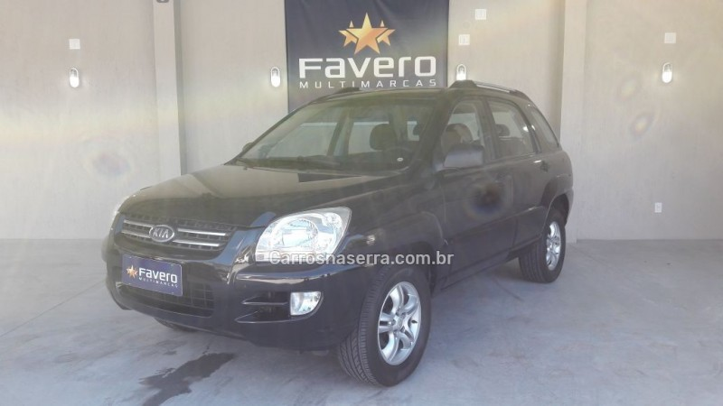 sportage 2.0 lx 4x2 16v gasolina 4p manual 2005 salvador do sul