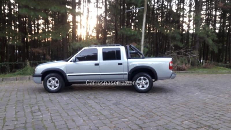 s10 2.4 mpfi advantage 4x2 cd 8v gasolina 4p manual 2007 nova prata