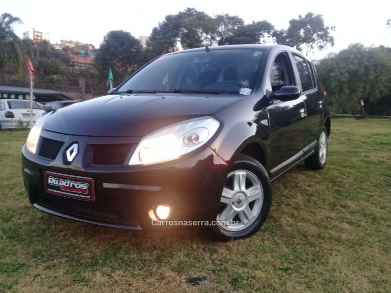 sandero 1.6 privilege 16v flex 4p manual 2009 caxias do sul