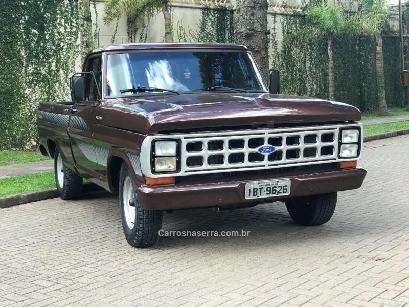 f 1000 diesel 2p manual 1986 caxias do sul