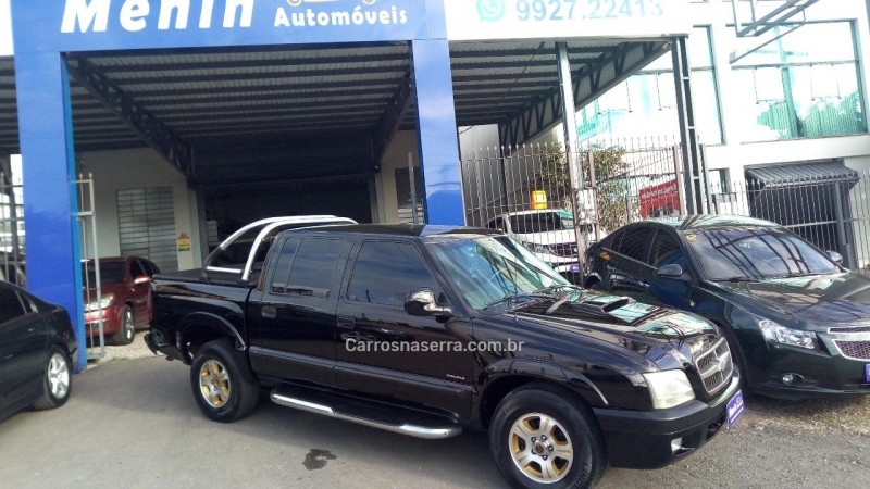 s10 2.8 colina 4x4 cd 12v turbo electronic intercooler diesel 4p manual 2006 caxias do sul