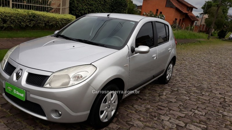sandero 1.6 privilege 8v flex 4p manual 2009 caxias do sul