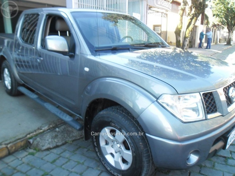 frontier 2.5 se 4x4 cd turbo eletronic diesel 4p manual 2009 bento goncalves