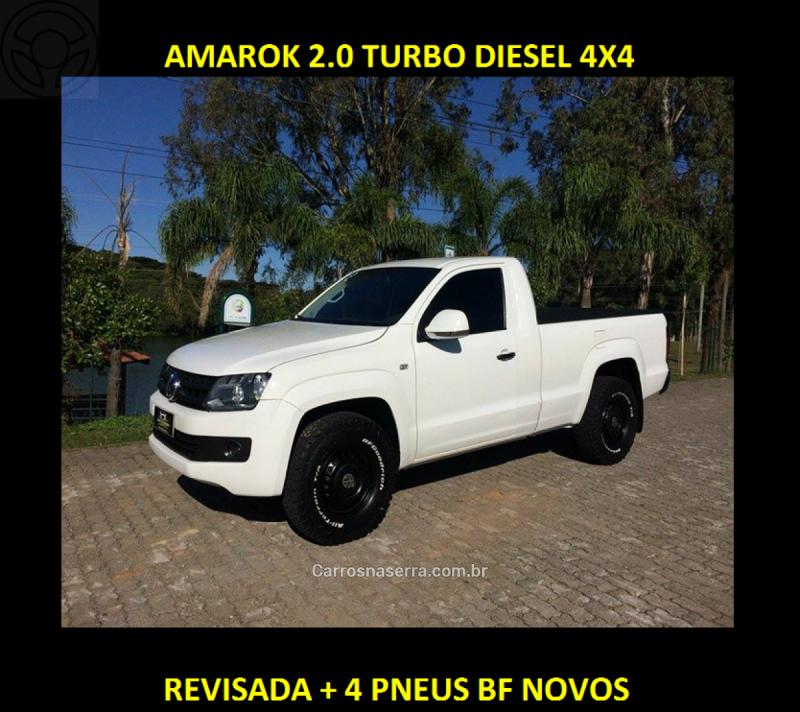 amarok 2.0 s 4x4 cs 16v turbo intercooler diesel 2p manual 2012 caxias do sul