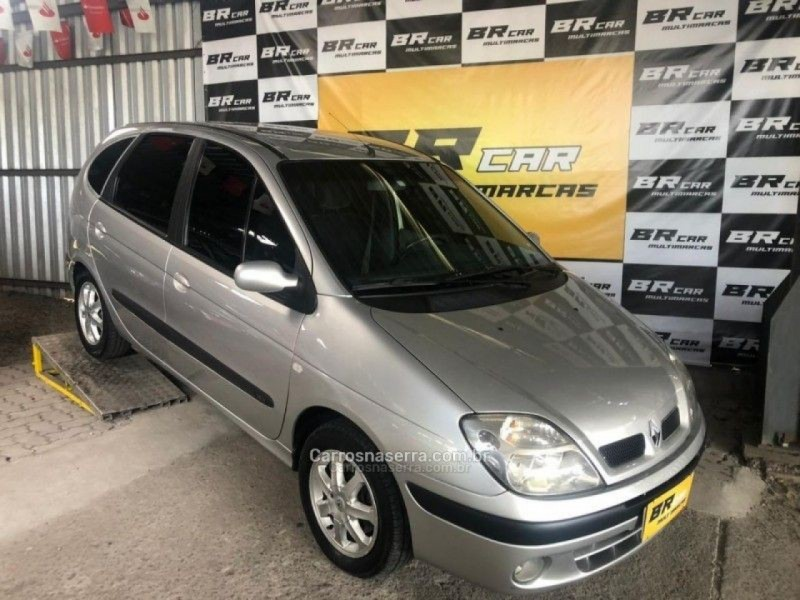 scenic 1.6 expression 16v gasolina 4p manual 2008 caxias do sul