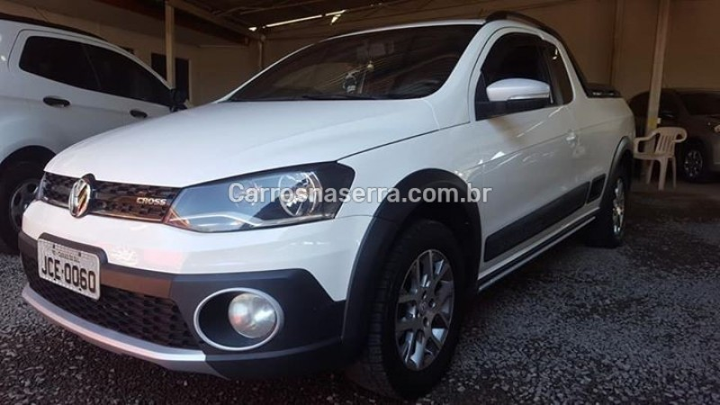 saveiro 1.6 cross ce 8v flex 2p manual 2014 caxias do sul