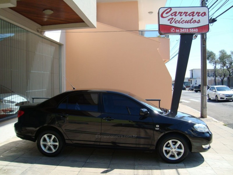 corolla 1.8 xli 16v flex 4p manual 2008 bento goncalves