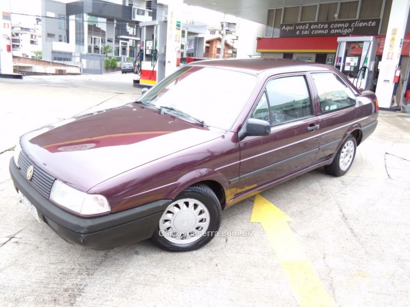 santana 2.0 gl 8v gasolina 2p manual 1993 caxias do sul