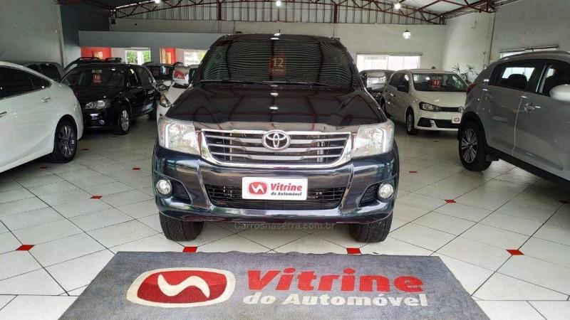 hilux 2.7 sr 4x2 cd 16v gasolina 4p automatico 2012 erechim