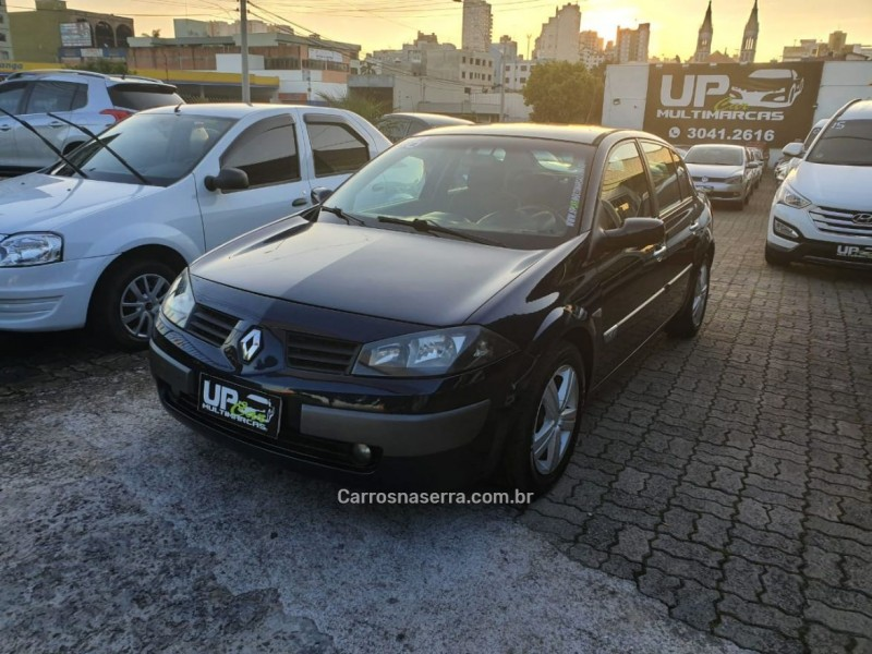 megane 1.6 dynamique 16v flex 4p manual 2008 caxias do sul